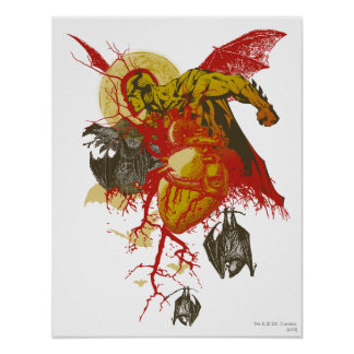 Batman Vintage All Hallows Eve Poster