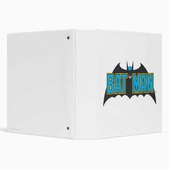 Batman | Vintage Blue Black Logo Binder