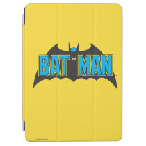 Batman | Vintage Blue Black Logo iPad Air Cover