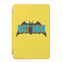 Batman | Vintage Blue Black Logo iPad Mini Cover