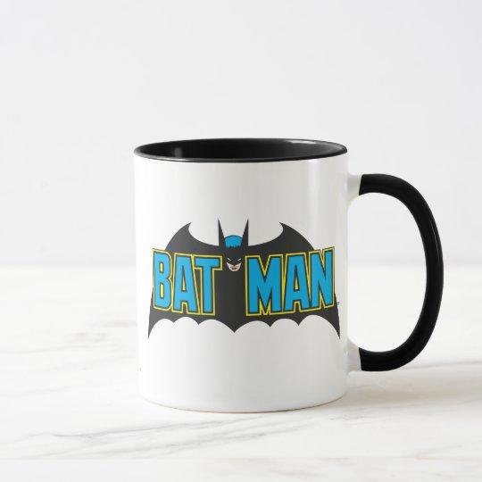 Batman | Vintage Blue Black Logo Mug