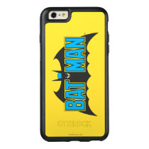 Batman | Vintage Blue Black Logo OtterBox iPhone 6/6s Plus Case