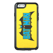 Batman | Vintage Blue Black Logo OtterBox iPhone 6/6s Case