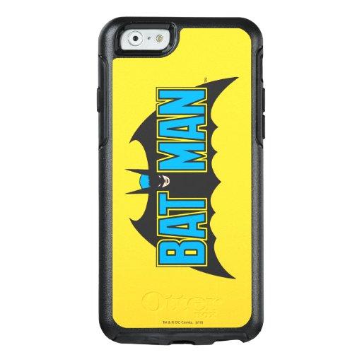 Batman | Vintage Blue Black Logo OtterBox iPhone 6/6s Case