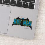 Batman | Vintage Blue Black Logo Sticker