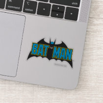 Batman | Vintage Blue Black Logo Sticker