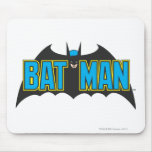 Batman Vintage Logo 1 Mousepad