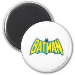 Batman Vintage Logo 2 2 Inch Round Magnet