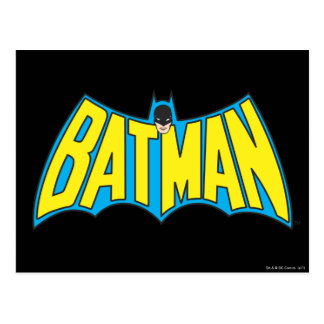 Batman Vintage Logo 2 Post Cards
