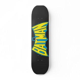 Batman Vintage Logo 2 Skate Board
