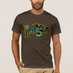 Batman   Vintage Turquoise Logo T-Shirt