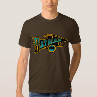 Batman | Vintage Turquoise Logo Tee Shirt