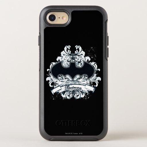 Batman Vintage Urban Grunge OtterBox Symmetry iPhone 8/7 Case