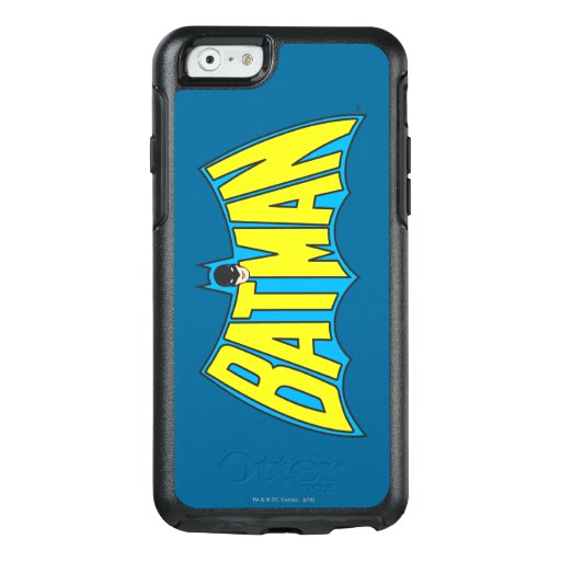 Batman | Vintage Yellow Blue Logo 2 OtterBox iPhone 6/6s Case