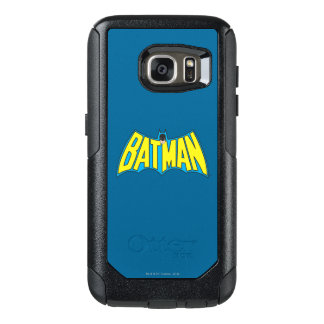 Batman | Vintage Yellow Blue Logo 2 OtterBox Samsung Galaxy S7 Case