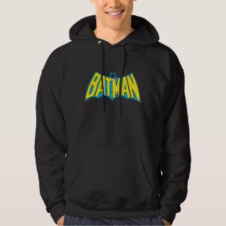 Batman | Vintage Yellow Blue Logo Pullover