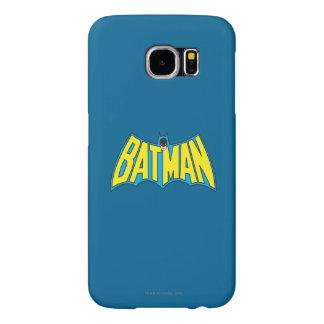 Batman | Vintage Yellow Blue Logo Samsung Galaxy S6 Case