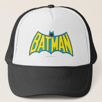 Batman | Vintage Yellow Blue Logo Trucker Hat