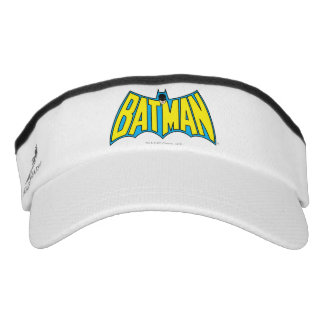 Batman | Vintage Yellow Blue Logo Visor