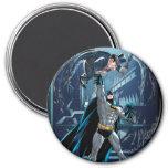 Batman vs. Penguin 3 Inch Round Magnet