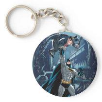 Batman vs. Penguin Keychain