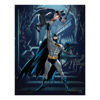 Batman vs. Penguin Poster