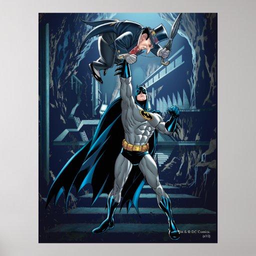 Batman vs. Penguin Poster