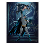 Batman vs. Penguin Print