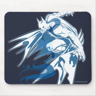 Batman Water Tonal Collage Mouse Pad