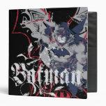 Batman Wing Collage 3 Ring Binder