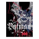 Batman Wing Collage Postcard