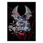 Batman Wing Collage Poster