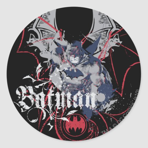 Batman Wing Collage Stickers