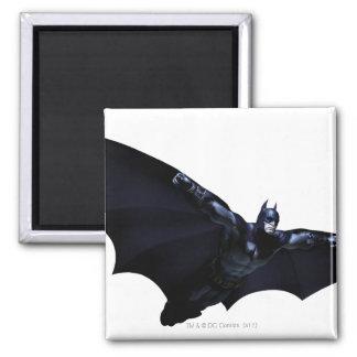 Batman Wings Spread 2 Inch Square Magnet
