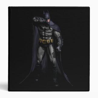 Batman Wiping His Brow 3 Ring Binder