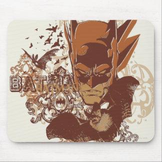 Batman with Bats Collage Mouse Pad