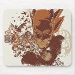 Batman with Bats Collage Mousepad