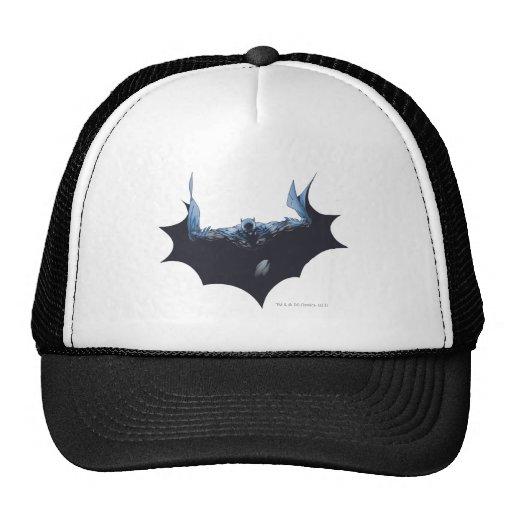 Batman with dark cape trucker hat