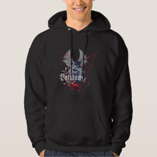 Batman with Grey and Red Hoodie