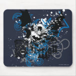 Batman with Knotwork Collage Mouse Pad