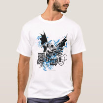 Batman with Knotwork Collage T-Shirt