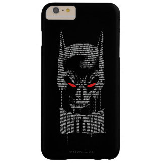 Batman With Mantra Barely There iPhone 6 Plus Case