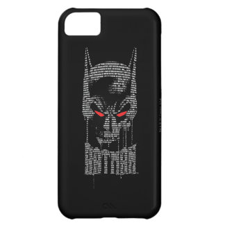 Batman With Mantra Case For iPhone 5C