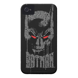 Batman With Mantra iPhone 4 Case