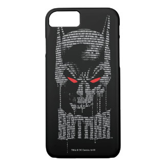 Batman With Mantra iPhone 7 Case