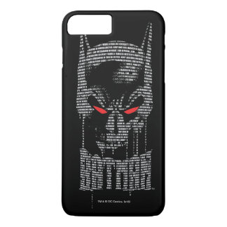 Batman With Mantra iPhone 7 Plus Case