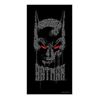 Batman With Mantra Poster