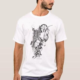 Batman with Ornate Letter T-Shirt