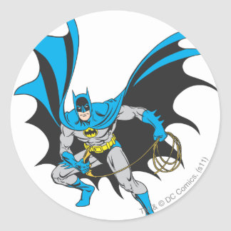 Batman with Rope Stickers