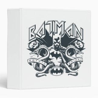 Batman with Snakes Vinyl Binders